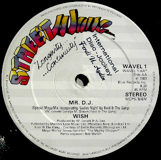 WISH - Mr. D.J. (Special Mega-Mix Incorporating 'Ladies Night' By Kool & The Gang)1983