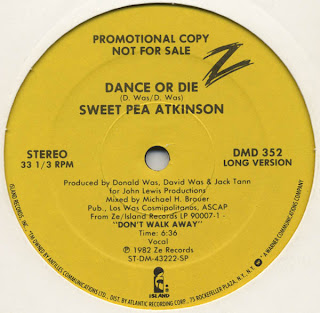 Sweet Pea Atkinson - Dance Or Die 1982 12 Inch