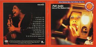 Patti Austin - Live At The Bottom Line 1979 Reissue  1991 CD