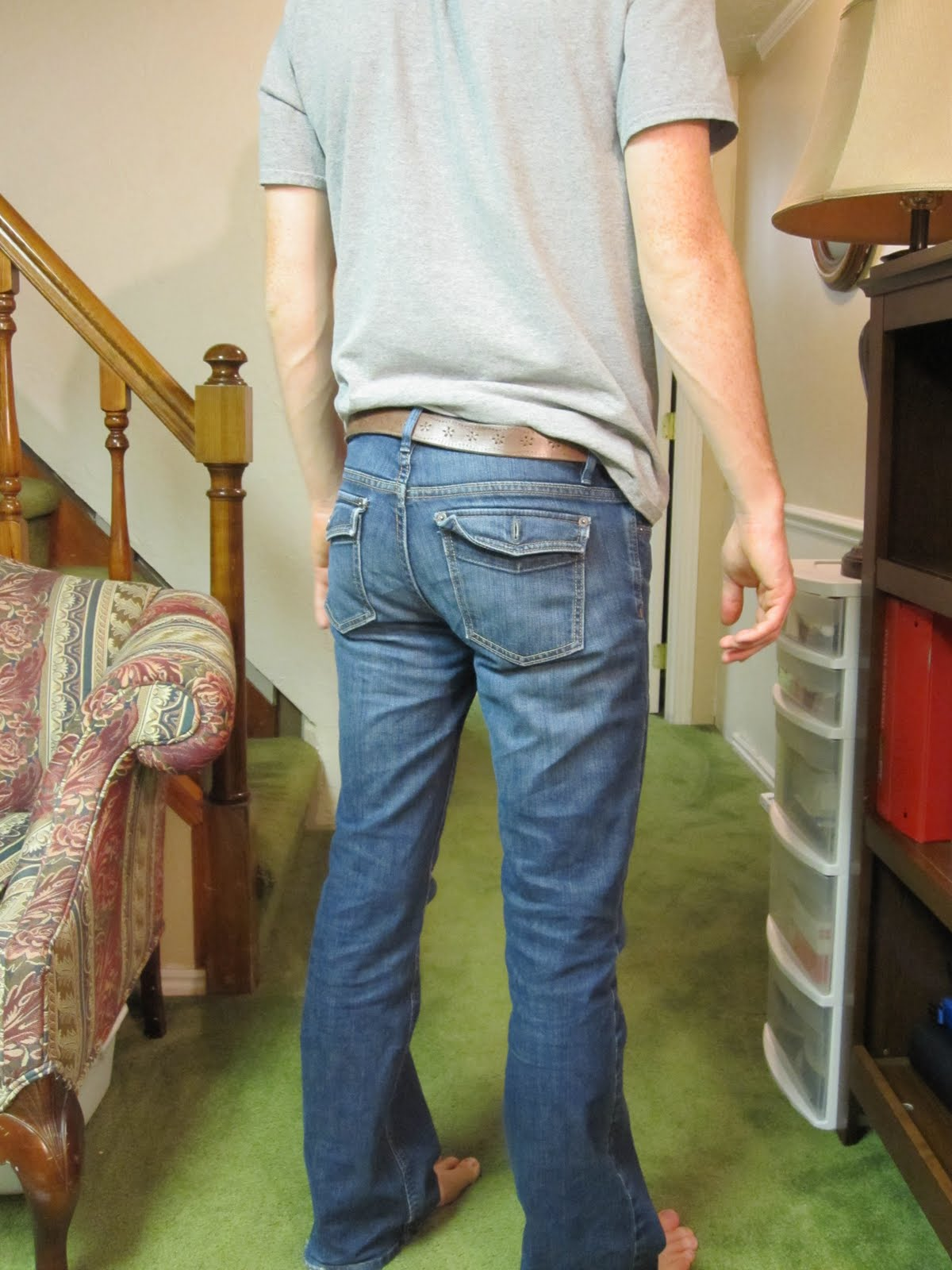 Ethan's Blog: Do these jeans make me look fat?