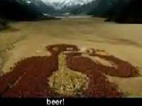 場面壯觀的超級大啤酒廣告