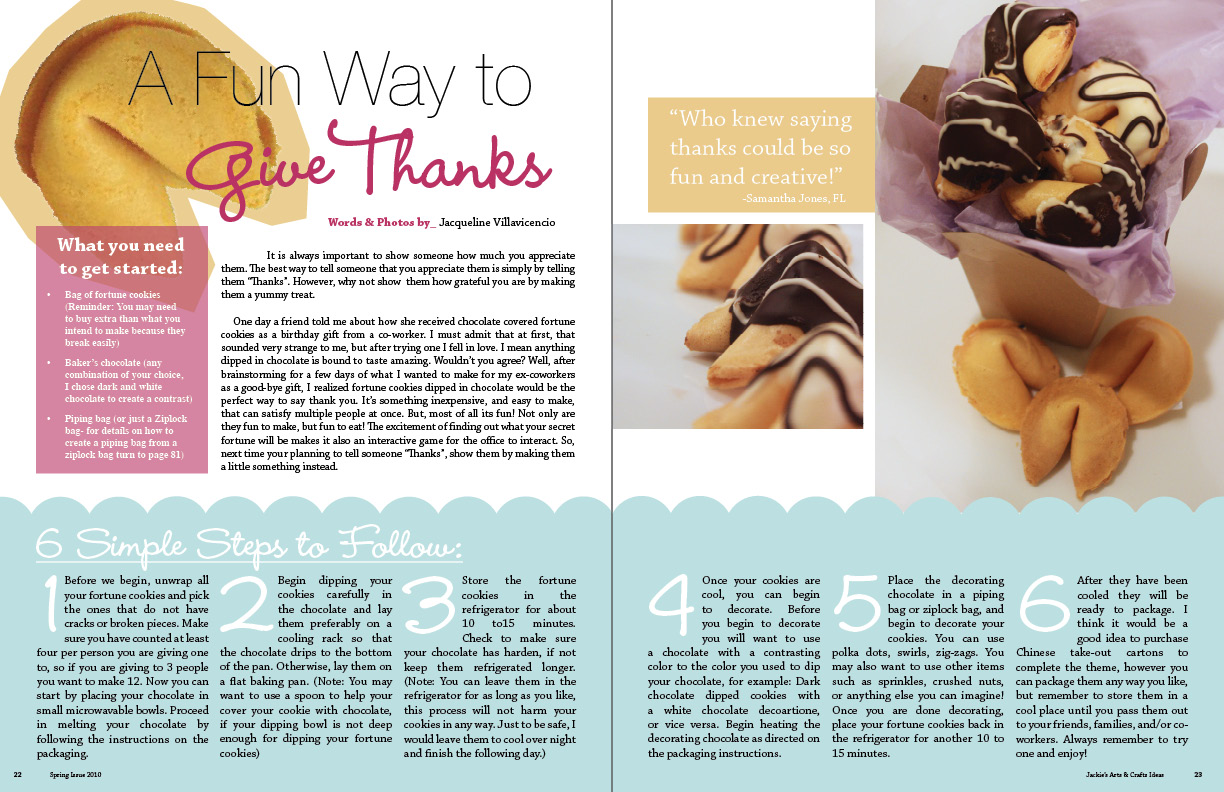 Imagemaking Magazine Layout Design