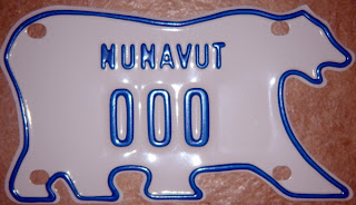 but at least now i can say i have a nunavut license plate