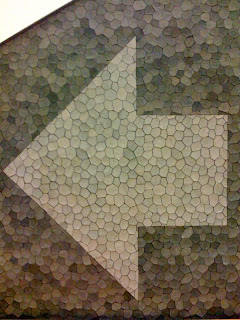 mosaic arrow, Lake Merritt BART station