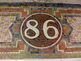 NYC metro mosaic, New York, by A.E. Graves
