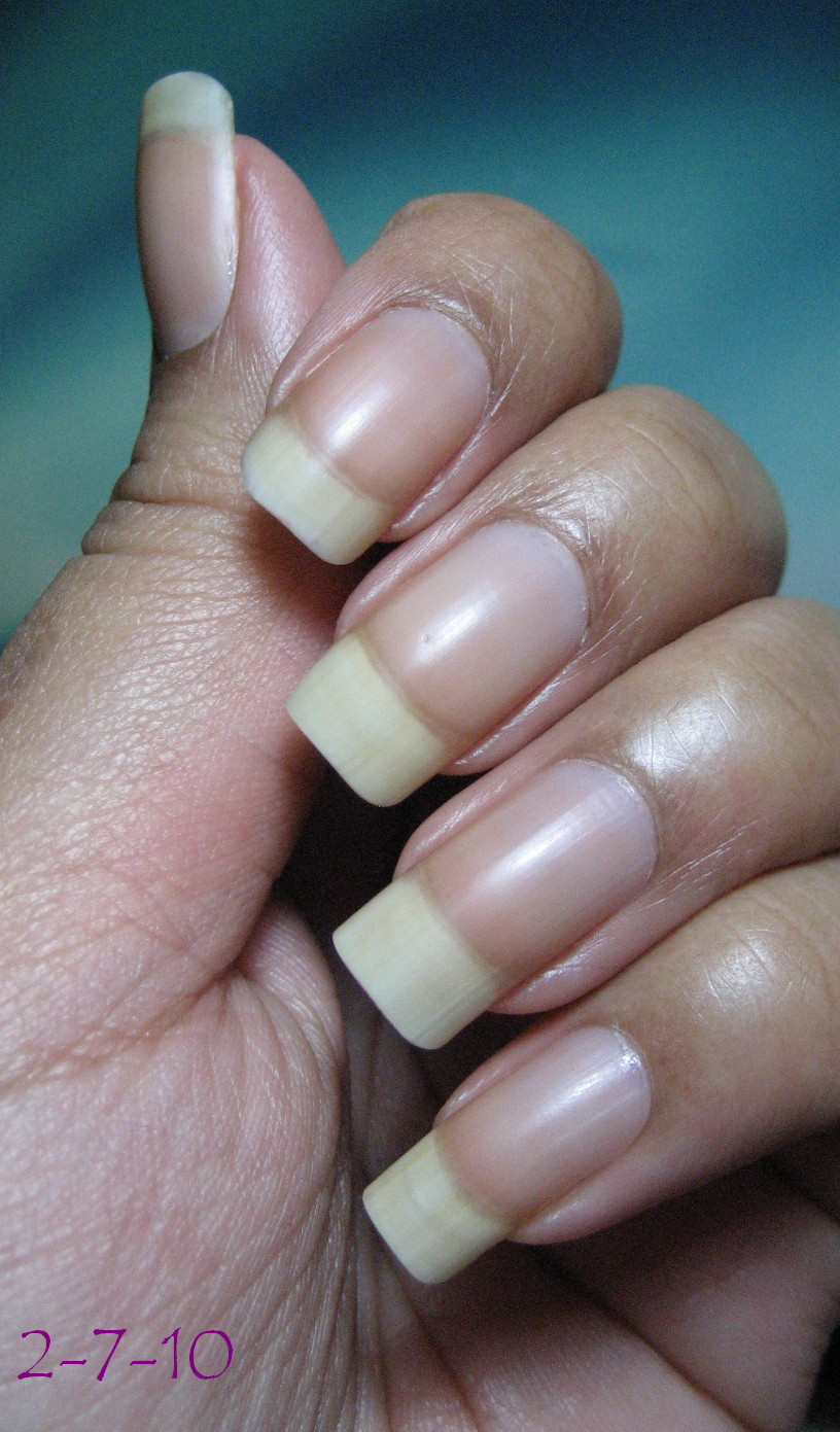 My Simple Little Pleasures: Naked Nails & Nail Maintenance