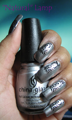 China Glaze Millennium - Konad plate m65