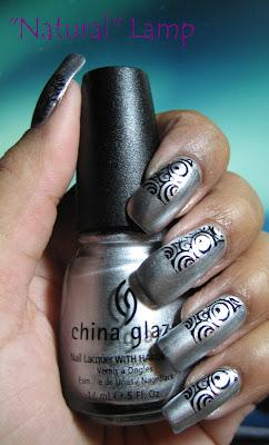 China Glaze Millennium - Konad plate m65
