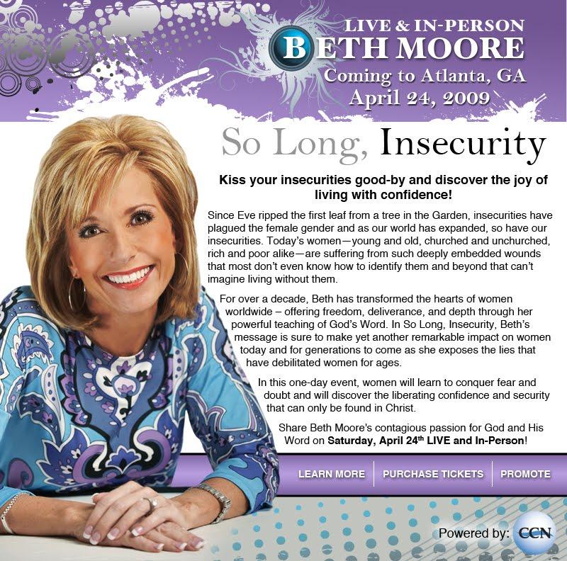 Beth Moore LIVE Atlanta!
