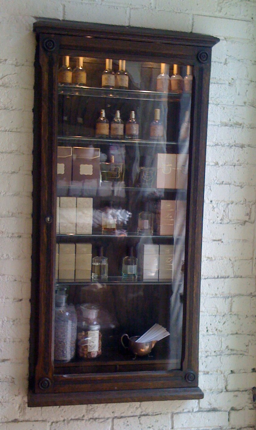 Prince St New Perfume Cabinet