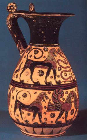 Stapleton Kearns Greek Pottery The Orientalizing Style