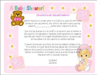amarna lo mejor en moda y manualidades: Invitaciones para baby shower