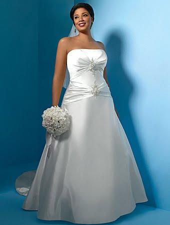 amarna lo mejor en moda y manualidades: vestidos de novia y madrina xxl