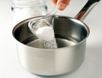 sugar With Warm Water