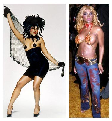 before and after lil kim. Lil Kim Before And After Plastic Surgery