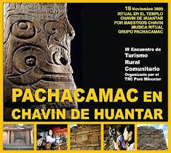 CONCIERTO RITUAL EN TEMPLO CHAVIN DE HUANTAR