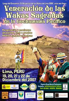 Organización / II PEREGRINAJE A LAS HUACAS DE LIMA