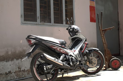 135cc Yamaha t135 Exciter is fast and sporty.