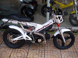 Cool motorbike in Saigon