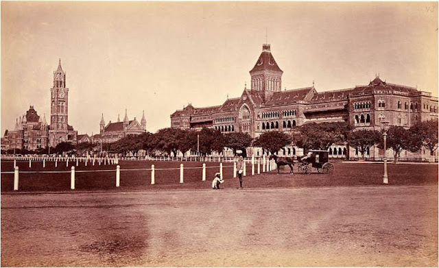 Oval Maidan - Churchgate Station - Bombay aka Mumbai