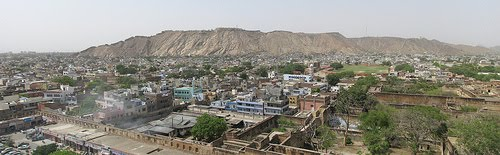 Panorama View of Jaipur city