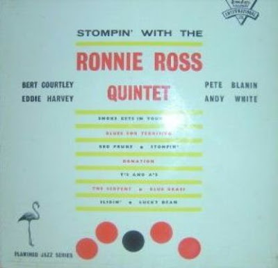 RONNIE ROSS- STOMPIN' WITH THE RONNIE ROSS QUINTET (1958)