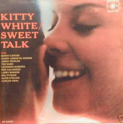 Cover Album of KITTY WHITE - SWEET TALK (1959)