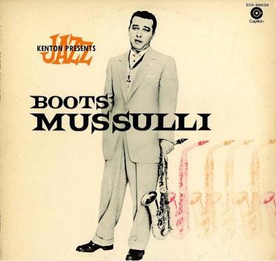 BOOTS MUSSULLI - KENTON JAZZ PRESENTS (1954)
