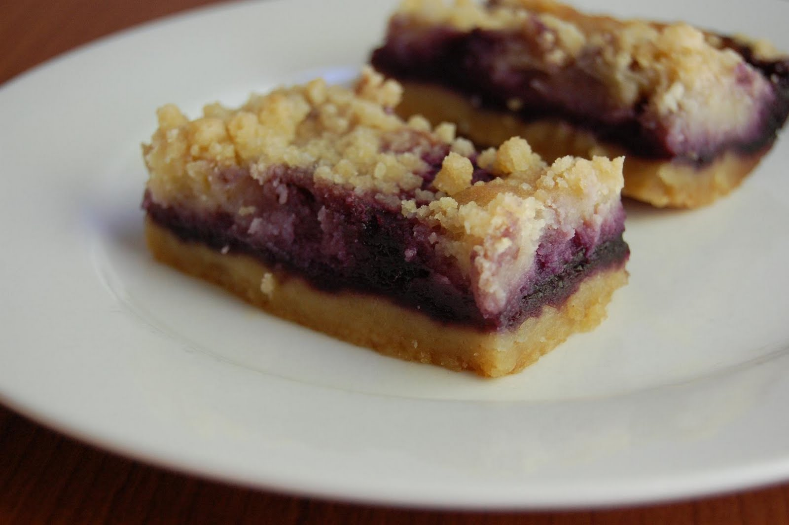 Canadian Baker Too: Blueberry cheesecake Shortbread Bars