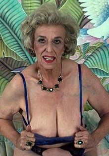 Very Breasts Saggy With Granny