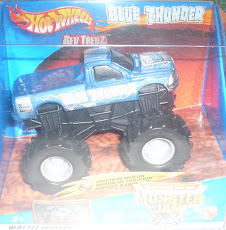 HW MONSTER JAM BLUE THUNDER_2009