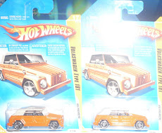 HW VW THING ORANGE 2009