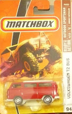 MBX VW T2 BUS RED