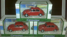 CARARAMA VW BEETLE RED(1:43)