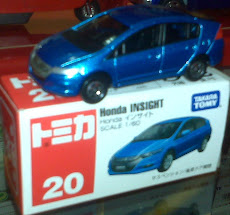 TOMICA HONDA INSIGHT