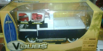 JADA VW PICK UP blue white(1:24)