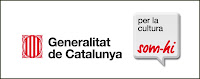 Logo campaa institucional 'Som-hi!', de la Generalitat