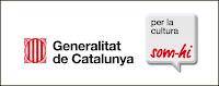 Logo campaña institucional 'Som-hi!', de la Generalitat