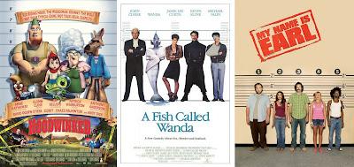 'La verdadera historia de Caperucita Roja', 'Un pez llamado Wanda' y 'Me llamo Earl'