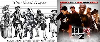 Bandidos históricos y grupos de hip-hop
