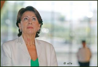 Magdalena Álvarez, Ministra de Fomento... todavía.