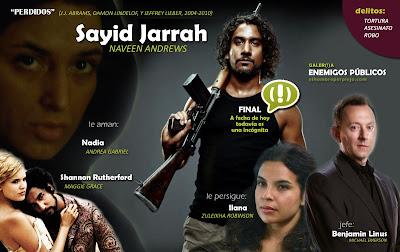 Sayid Jarrah en #3 'Enemigos públicos' de elhombreperplejo.com