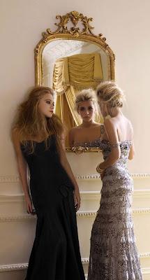 Las hermanas Olsen en la galería 'Actrices frente al espejo' de elhombreperplejo.com