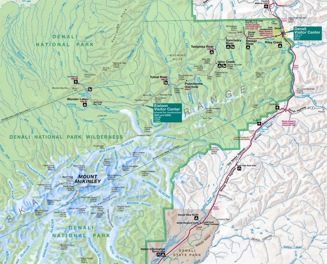 Northwest Explorer Denali National Park 2008