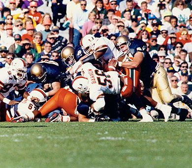 Catholics vs Convicts: Thoughts on the Miami-ND series, Kevin White,