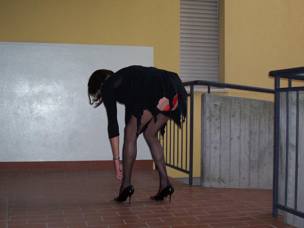 симпатичный кроссдрессер берет в попку член  Pornhubcom