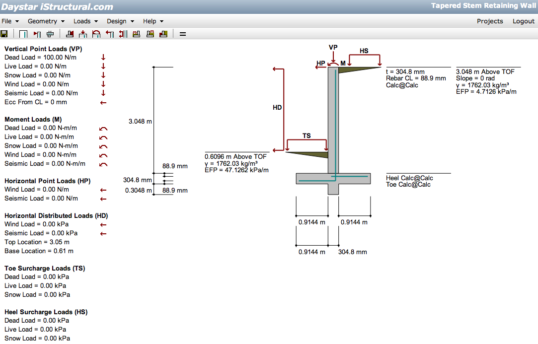 Structural Engineering Calculations : Istructural web based structural engineering software