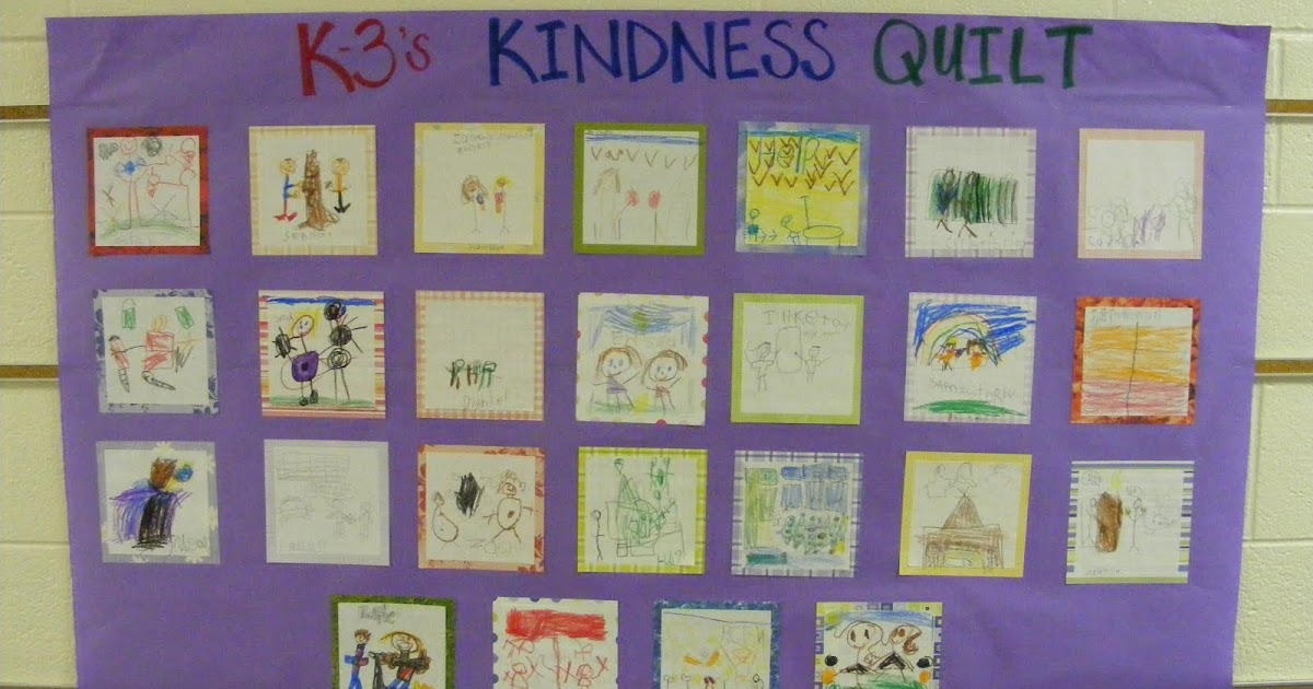 The Crafty Counselor: December Virtue: Kindness : kindness quilt - Adamdwight.com