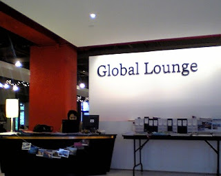 It infrastructure in hku global lounge