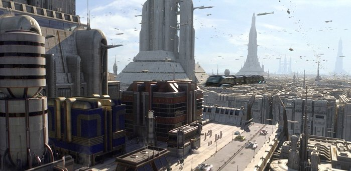 profundamente superficial arquitectura en star wars